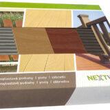 Vzorník dřevoplastových prken a plotů